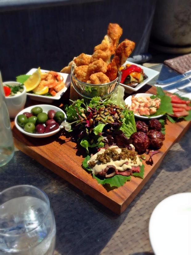 Platter at Mudbrick Vineyard
