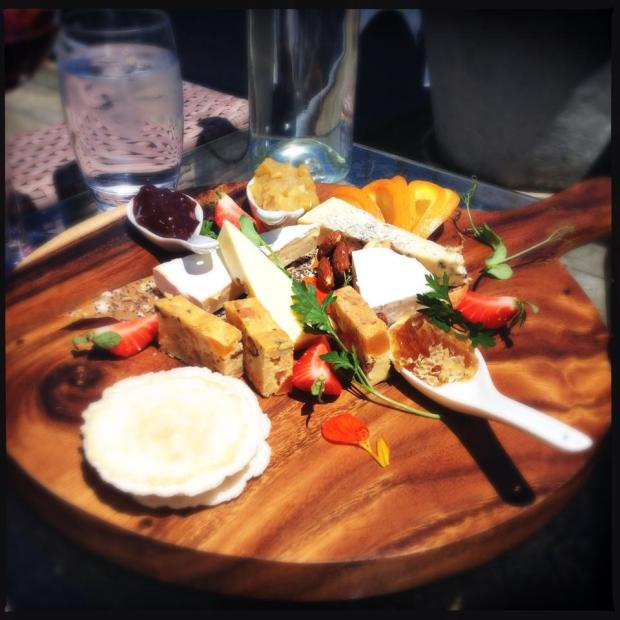 The Mudbrick Vineyard Cheese Platter